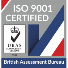 British Assessment Bureau ISO 9001 logo